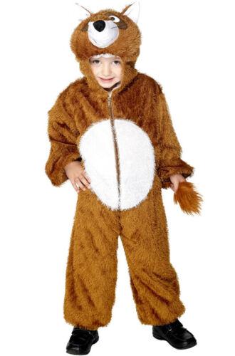 Medium Brand New Animal Cuddly Fox Child Costume