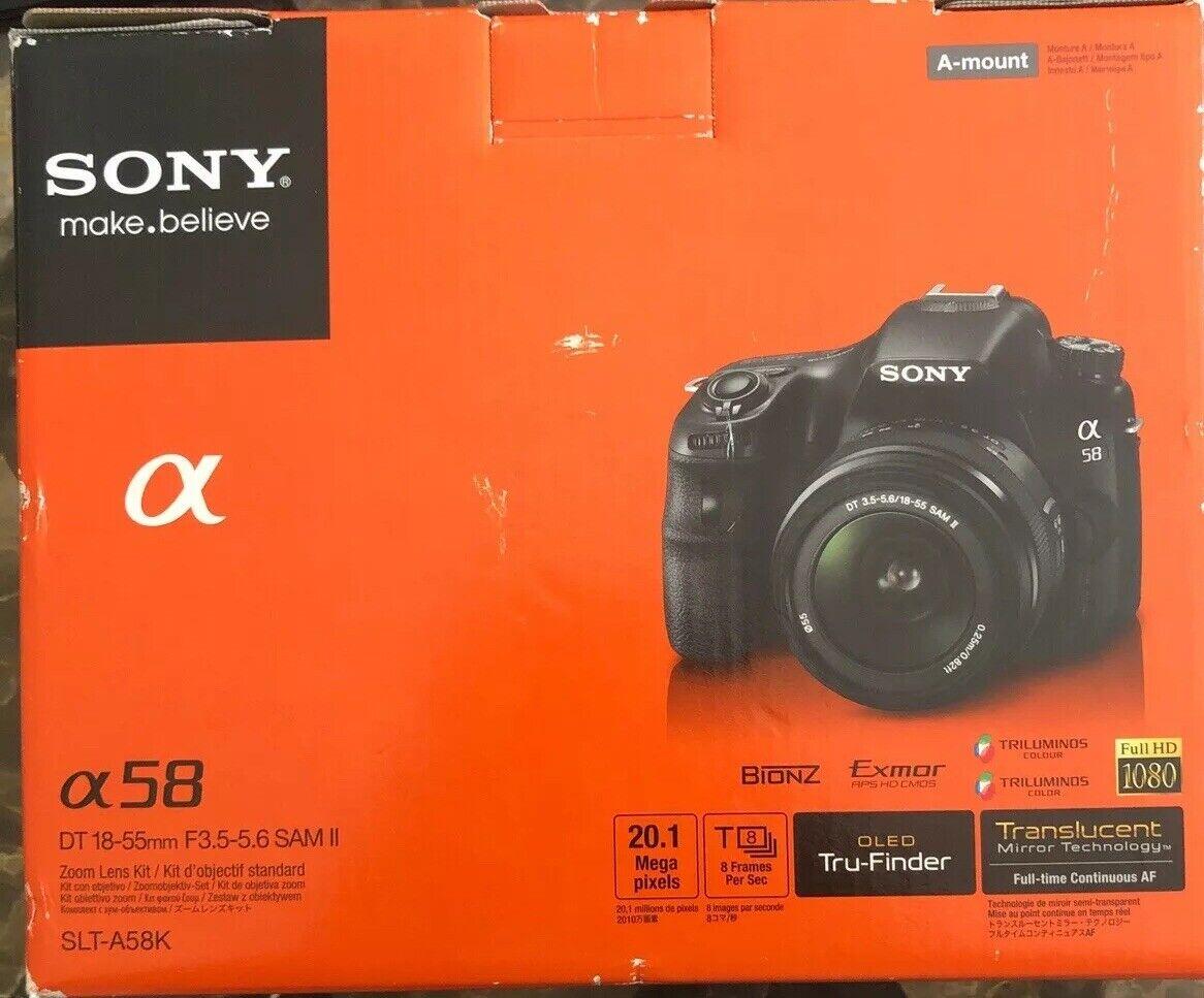 2x Telephoto Lenses for Sony Alpha SLT-A58 with Sony 50mm f//2.8 Prime Lens 55mm Wide Angle DavisMAX Fibercloth Lens Bundle
