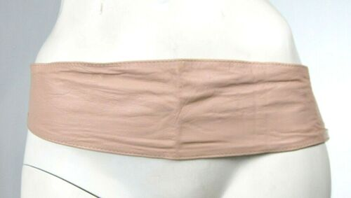 Cintura Donna in Pelle KAOS Made in Italy H238 Beige-Cipria