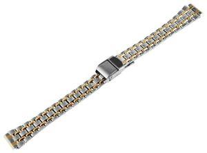 Edelstahl-Gliederarmband-Uhrenband-Silber-Gold-12-mm-Ersatzband-X-RP8200012085
