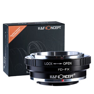 K-amp-F-Concept-adapter-for-Canon-FD-mount-lens-to-Fujifilm-X-T10-X-Pro1-X-M1-camera