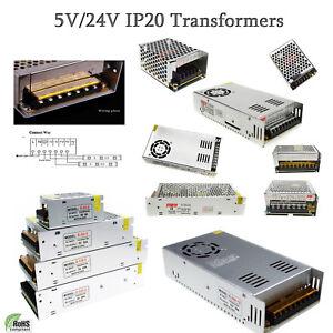 DC5V//24V LED Transformer Driver Electric Power Supply LED Transformer for Strips