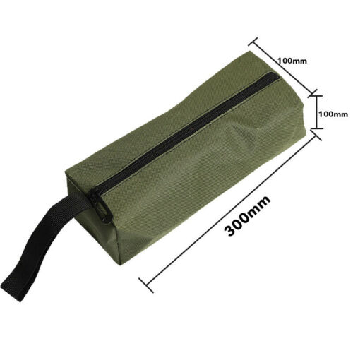 Zipper Tool Bag Pouch Organize Storage Small Parts Hand Plumber Electrician GEM