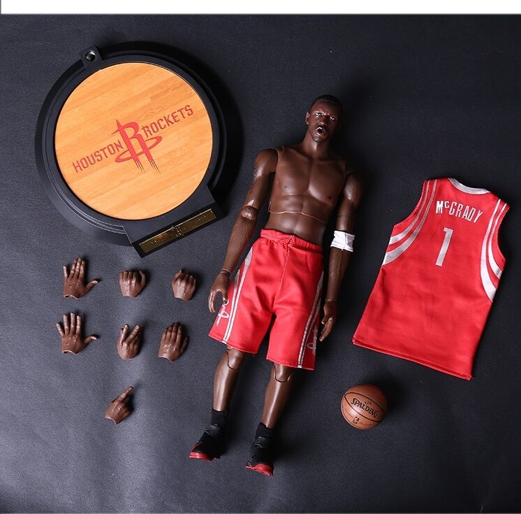 1 6 Scale Real Masterpiece NBA Collection Tracy Mcgrady Action Figure No Box