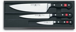 Wusthof 3.5 Pairing, 6 Utility and 8 Cook's Knife - 3 Piece Knife Set W9608