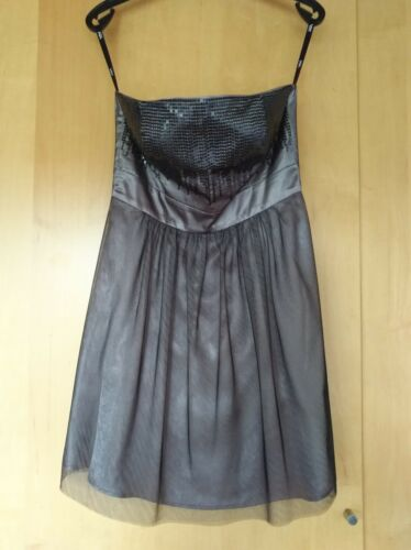 Kleid 36 Mit Größe Lila Pailetten fliederfarben r6rx7THq