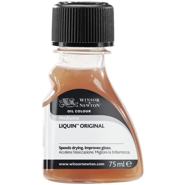Winsor & Newton Liquin Original 75ml Artists Oil Painting Medium