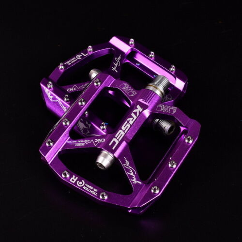 KRSEC  XC AM MTB Mountain Road bicycle pedals flat platform bike pedal 9//16 in