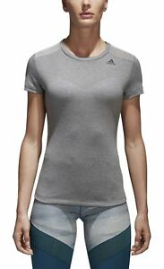 adidas Frauen Prime T Shirt Mix ch solid grey BQ5802