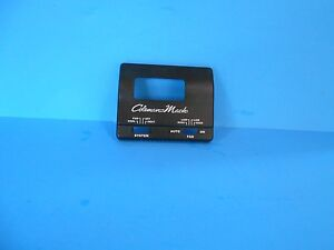 rv coleman mach manual thermostat replacement cover only black rh ebay com Coleman Mach Thermostat Wiring Diagram rv comfort hc coleman mach thermostat manual