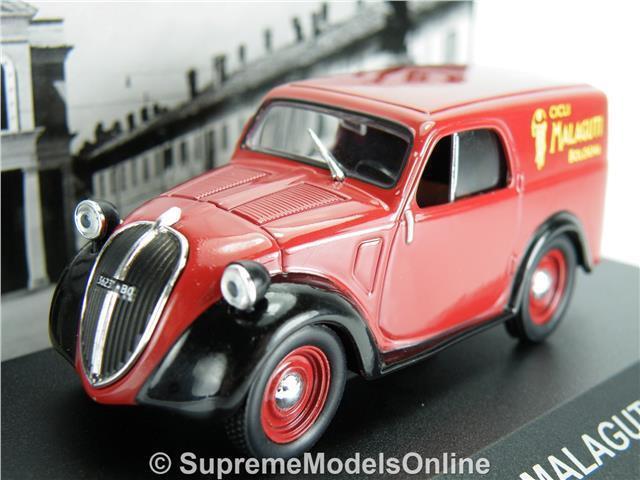 1947-1:43 DIECAST ITALIAN VAN TRUCK MODEL CAR IXO C23 MALAGUTI FIAT 500 A