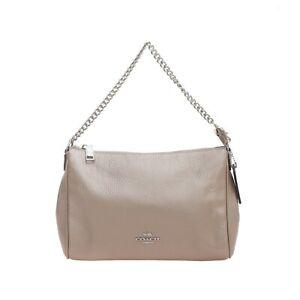 NWT-COACH-Carrie-Crossbody-Shoulder-Bag-Purse-Chain-Platinum-Silver-F39207-NEW
