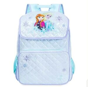Frozen-Anna-Elsa-Backpack-Bag-Snowflakes-Disney-Store-NEW