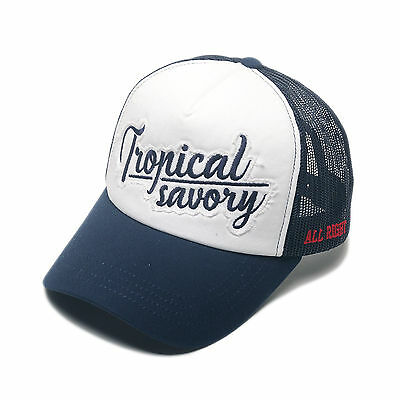 Unisex Mens Brooklyn Airy Mesh Baseball Cap Snapback Trucker Hats Navy