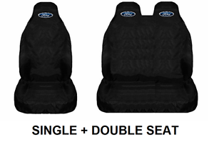 Transit Mk8 Custom FORD Van Seat Covers Protectors Heavy Duty Waterproof