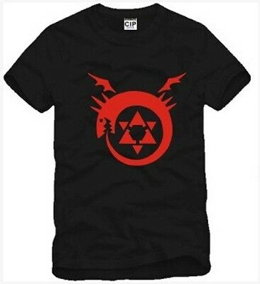 Fullmetal Alchemist The Horde Symbol Cosplay Costume T-shirt Uzumaki Clothing