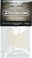 Jim Dunlop Nylon Standard Guitar Picks 12 Pack - .46mm