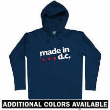 Made in DC Hoodie - Washington Nationals Capitals Redskins DCA IAD - Men S-3XL