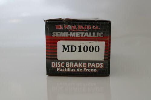 Disc Brake Pad Set Semi-Metallic Front fits 2004 Pontiac Grand Prix