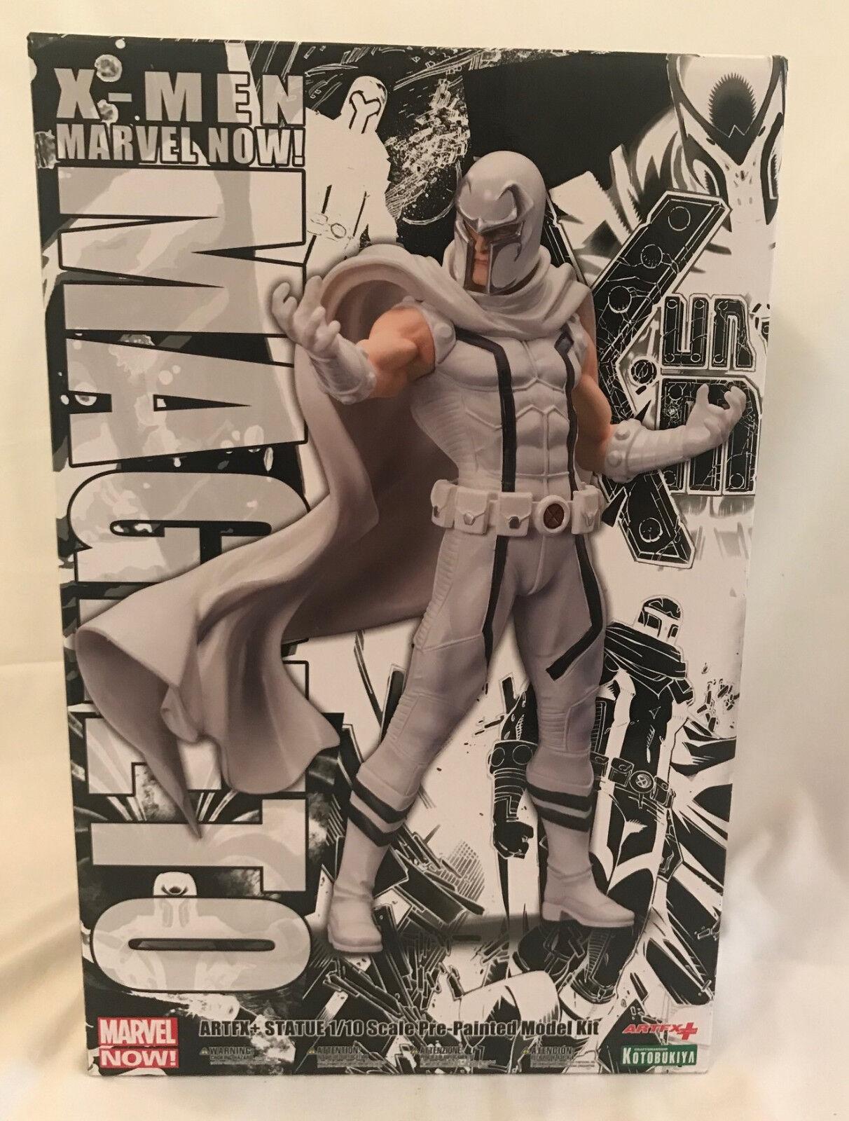 STATUE Kotobukiya MAGNETO Weiß  Marvel Now  X-Men Figurine PVC ARTFX