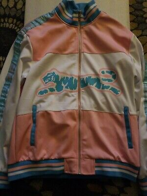 Girl's Adidas Pink Warm Up Tricot Jacket NWT
