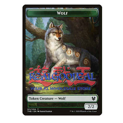 Theros Beyond Death 4RCards Wolf Token x10