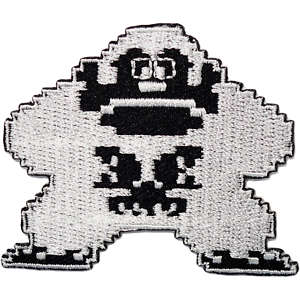 Donkey Kong Patch Iron Sew On Shirt Jeans NES 8 Bit Video Game Embroidered Badge