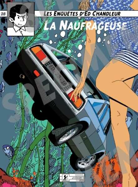 """""""la Naufrageuse"""" Dessin (3 Ex Disponibles) Lancia Beta Montecarlo Par Jiceher"""