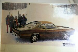 Plymouth-Chrysler-Gold-Duster-Magazine-clipping-advertisement-Ad