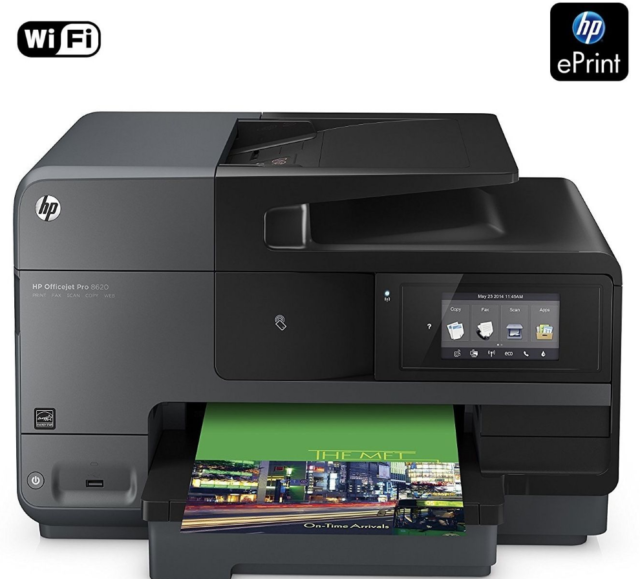 **HP Officejet Pro 8620 Multifunktionsdrucker Schwarz (A7F65A) Sonderauktion^^
