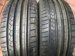 2-Nouveaux-225-35-19-Dunlop-SP-SPORT-MAXX-GT-Runflat-Pneus-225-35-R19-88Y-Extra-Load