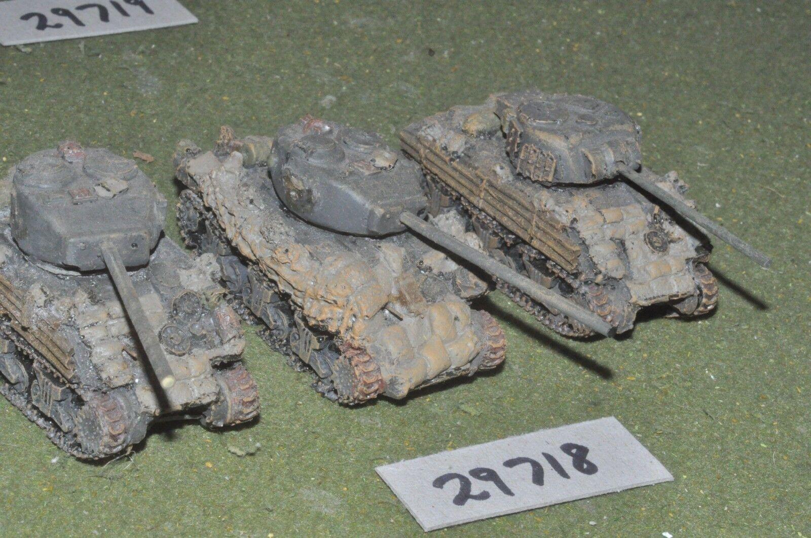 20mm WW2   british - 3 tanks (resin) - vehicles (29718)