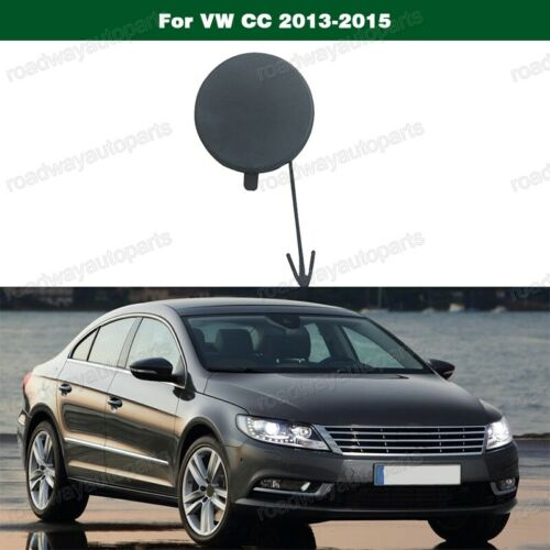 New Front Bumper-Tow Hook Eye Cover Cap For Volkswagen VW CC 2013-2015