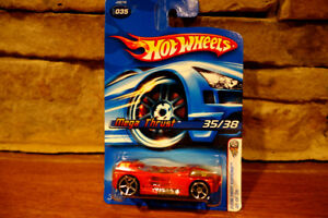 2006-First-Editions-Hot-Wheels-Diecast-Mega-Thrust-Red-J3276-35-of-38