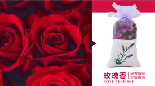 Natural Rose Flowers Jasmine Lavender Bud Dried Flower Sachet Bag Aromatherapy