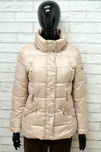 Giubbino-Donna-GAUDI-Taglia-Size-42-Giubbotto-Cappotto-Giacca-Jacket-Woman-Beige