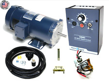 Kb Electronics Kbmd 240d Dc Drive 9370 With Leeson 1800rpm 34hp Motor Made In Usa