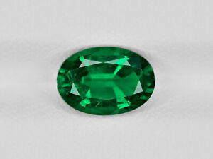 6.31 Cts Natural Emerald Certified Oval Good Quality