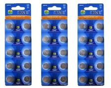 30 Pc 357 AG13 303 LR1154 1.5V Watch Cell Coin Button Alkaline Battery