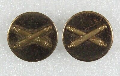 WWII era Army Enlisted Collar Pin Battery G Field Artillery