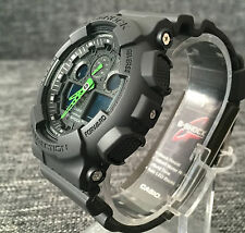 CASIO G SHOCK GA-100C-1A3ER BLACK XLARGE ANALOG&DIGITAL WR 200M BRAND NEW