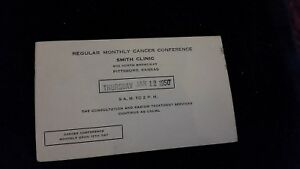 Penny-Advertising-Postcard-Monthly-Cancer-Conference-Smith-Clinic-Pittsburg-Kan