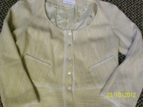 Suit In Two cream Size Canada 8 Zenobia Tan Made Piece PSa7qywIcw