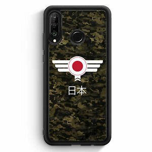Japon-camuflaje-con-letras-cheers-huawei-p30-Lite-Silicona-Funda-motivo-Design-mie