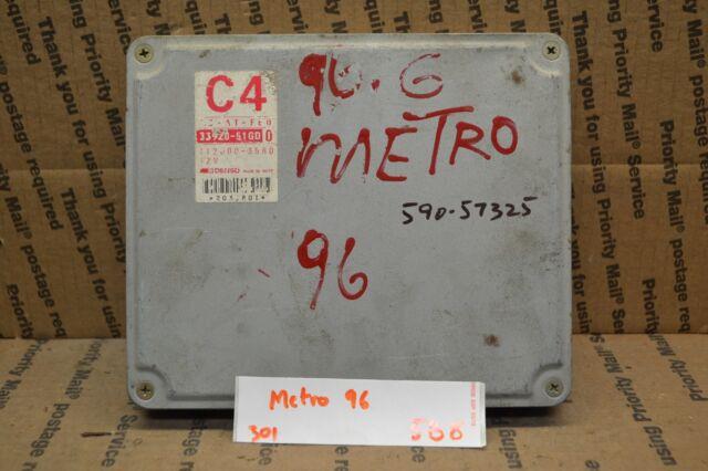 1996 Geo Metro Engine Control Unit Ecu 3392051gd0 Module