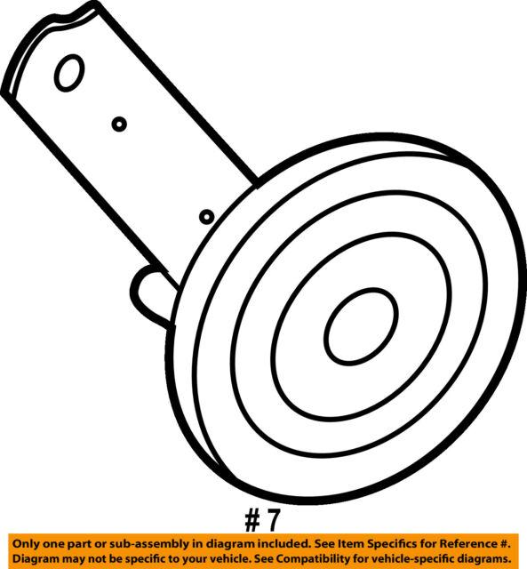 Jaguar Oem 09 15 Xf Anti Theft Alarm System Horn C2z1109 For Sale
