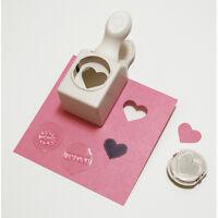 Martha Stewart Paper Punch Die Cut Craft Valentine 3 Stamp Love Letters Wedding