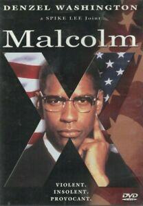 DVD MALCOLM X DENZEL WASHINGTON