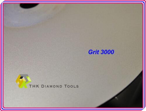 6 inch Grit 2000 THK FULLFACE Diamond Flat Lap wheel Lapidary grinding polishing