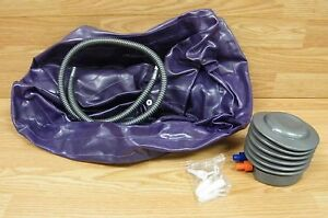 core secrets purple exercise / yoga ball with pump  hose